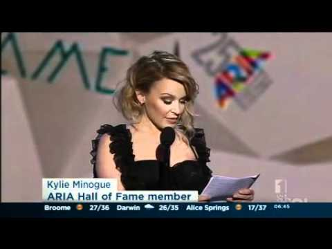 Kylie Minogue - Australia's Best Ever Singer - Inducted into ARIA Hall of ...