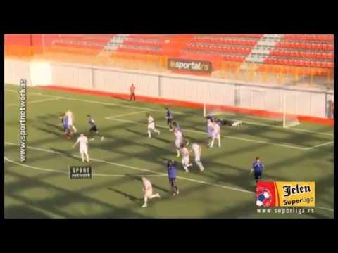 FK Vozdovac Beograd 2-0 Mladost Lucani