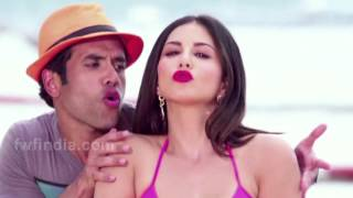 Sunny Leone Car Wash making Video  Mastizaade