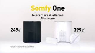 Somfy One, sicurezza all-in-one | Videosorveglianza | Somfy Italia