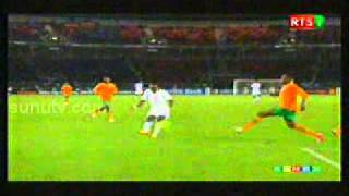 Resume Senegal Zambie 1-2