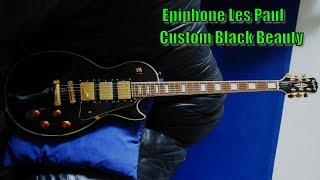 download lagu Epiphone Les Paul Custom Black Beauty gratis