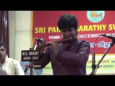 Rag Thodi (part 1) - Flute J.A.Jayanth - Carnatic Music