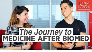 Studying Medicine after Biomedical Sciences! King's College London! | Atousa Interviews Kenji Tomita