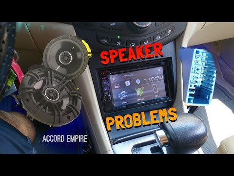 Problems with New Aftermarket Radio - Speaker does not Work!