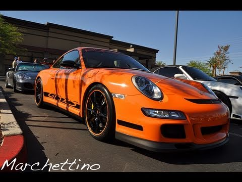 Supercars in Las Vegas – GT3RS, GT2, M5 and More
