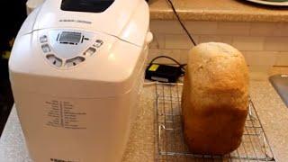 3 lbs Bread Maker loaf of bread - Peter's Kitchen Corner - Episode 1