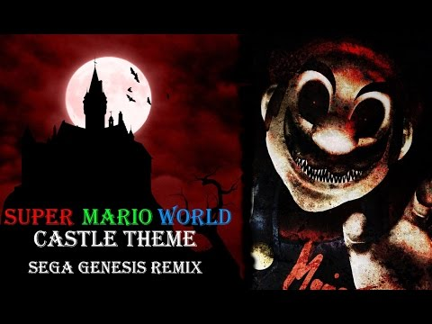 Super Mario World - Castle Theme(Sega Genesis Remix)