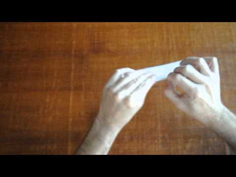 Papiroflexia, vaso de papel fácil de hacer.