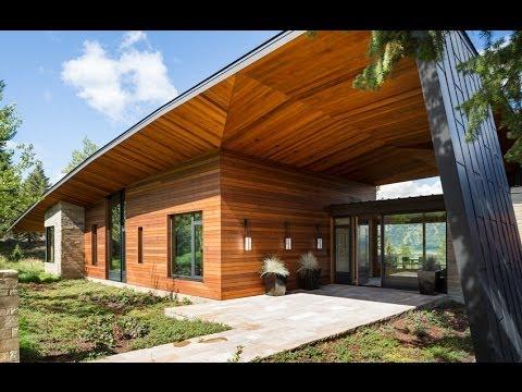 Dise o de moderna casa de campo incluye dise o de for Modelos de casas de campo modernas