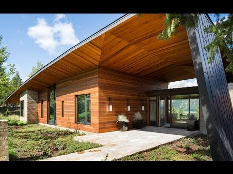 Dise o de moderna casa de campo incluye dise o de for Interior de la casa de madera moderna
