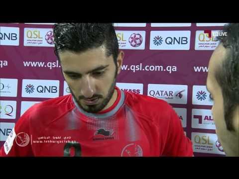 لخويا 2-0 الوكرة ( لقاء مع عبدالرحمن محمد )
