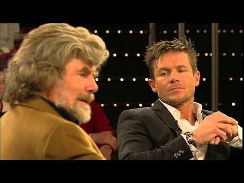 Felix Baumgartner und Reinhold Messner bei Markus Lanz im ZDF 17. Oktober 2013