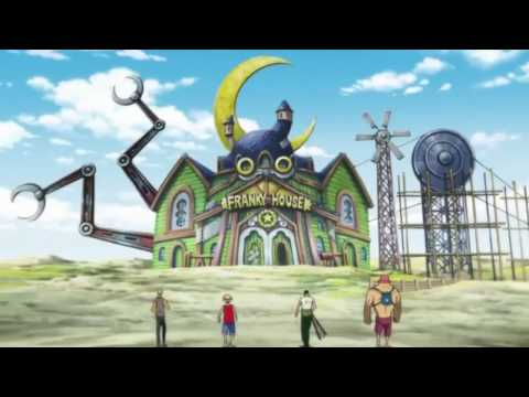 Epic Moment!!  Mugiwara Pirate Destroy Franky House And Luffy Say Goodbye To Merry