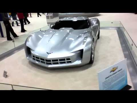 Corvette Stingray Model  on 2012 Corvette Stingray Concept Replica   Worldnews Com