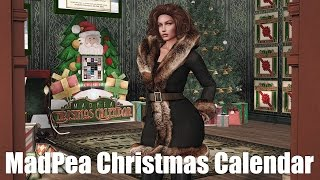 MadPea Christmas Calendar in Second Life