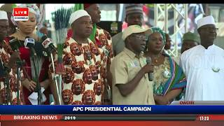 General Election: Buhari, Oshiomhole Lead APC Presidential Rally To Owerri Pt.3 |Live Event|