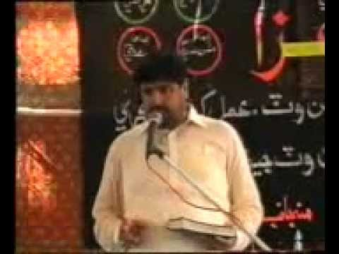 Zakir Aamir Abbas Rabani Majlis At Syed Sher Ali Shah Daur On 8th Rajab June 2011 Part 2 video