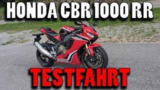 2018 Honda CBR 1000 RR Fireblade TEST | Power in Einfach!