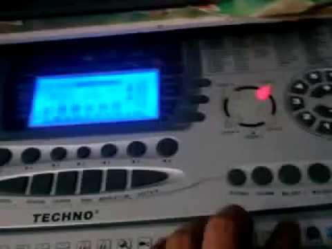 Tombol Oprekan Keyboard Techno