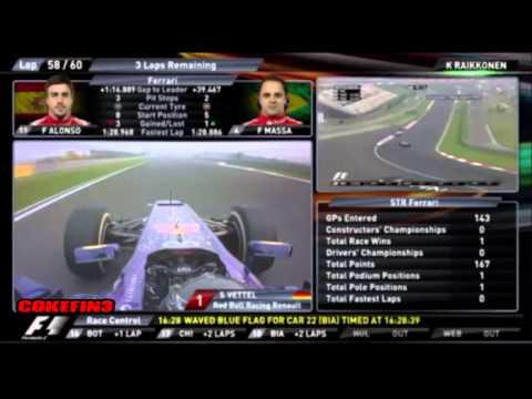 Räikkönen: Don't Shout There Fucker... (team Radio) - India 2013 video