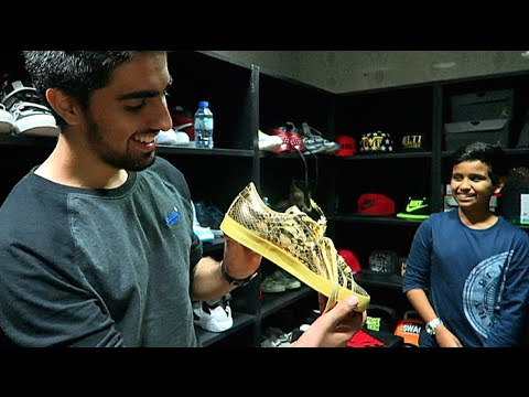 Dubai's Most Expensive Sneaker Collection !!!