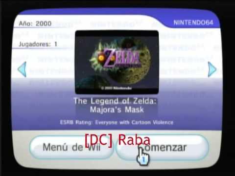 Instalar Canales y Juegos Gratis para Wii de la Consola Virtual y WiiWare