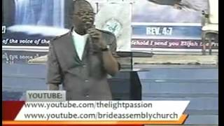 Pastor Moses Alu Understanding The End Time Anointing
