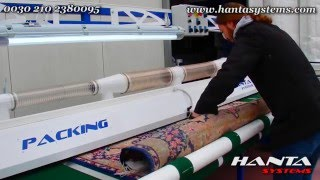 Carpet and Rug Packing machine