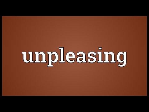 Header of unpleasing