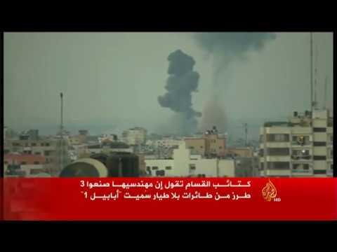 """كتائب القسام تصنع طائرات بلا طيار تسمى """"أبابيل"""""""
