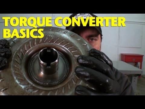 Torque Converters Explained -EricTheCarGuy