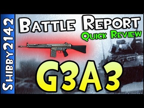 Battlefield 3 - Battle Report #3 : G3A3 (Quick Weapon Review & Tips)