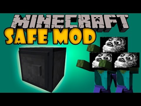 SAFE MOD - El cofre que NO lo abre ni NOTCH - Minecraft mod 1.6.4. 1.7.2 y 1.7.10 Review ESPAÑOL