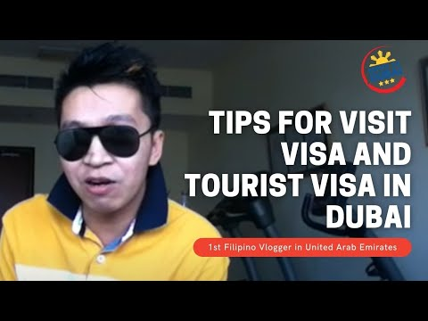 BUHAY SA DUBAI TV ||TIPS FOR VISIT VISA AND TOURIST VISA IN DUBAI