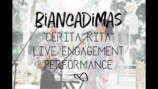 "download lagu ""cerita Kita"" - Biancadimas Live Engagement Performance gratis"