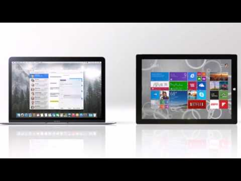 New 12-in MacBook vs. Surface Pro 3