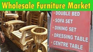 Wholesale furniture market | explore sofa, bed, office furniture | kirti nagar furniture market