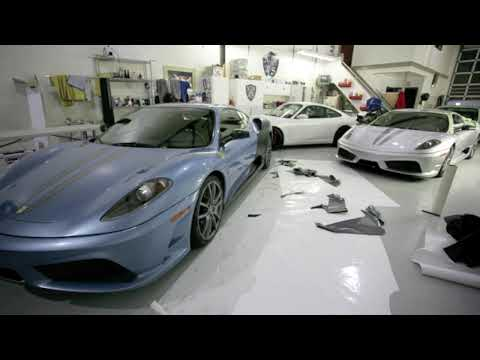 Ferrari Scuderia Full Matte Black Wrap by NorthWest Auto Salon Seattle Auto Detailing