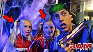 DO NOT GO TO A HALLOWEEN PARTY AT 3AM!! *OMG I MET HARLEY QUINN*