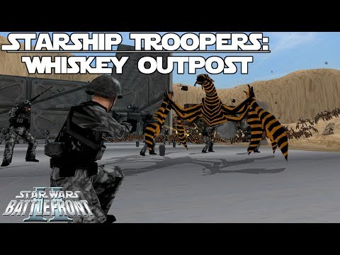 Star Wars Battlefront 2 Mod | Starship Troopers: Whiskey Outpost