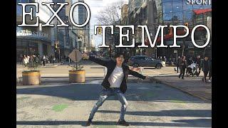 "[KPOP IN PUBLIC VANCOUVER] EXO (엑소): ""TEMPO (템포)"" Dance Cover [K-CITY]"