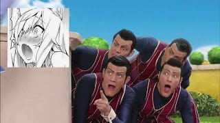 We Are Number One but every one is replaced with Ahegao