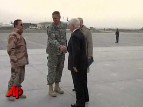 Raw Video: Gates Arrives in Afghanistan