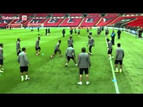 Treningowe Tiki-taka Barcelony - Piłka Nożna