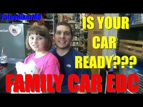 Family Car Everyday Carry - EDC Bag For Vehicle