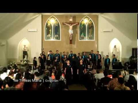 Gregorian Chant - Ne timeas Maria