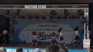 171009 ZOZOマリンスタジアム M☆Splash!! Dance Show - Wild Ones