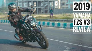 2019 Yamaha FZS V3 Review | Comparison with Hornet Gixxer | RWR