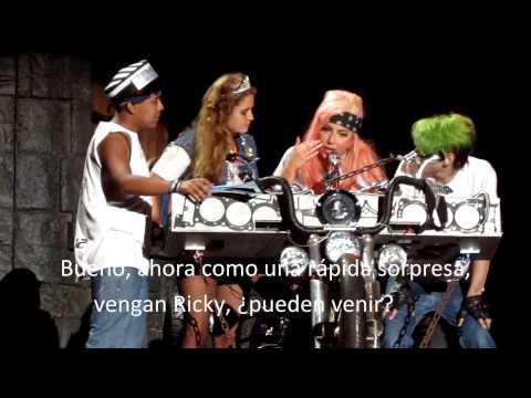 Lady Gaga Born This Way Ball Argentina DVD  Speech+ Bad Kids+ Hair+ Stuck On Fucking You + You & I+